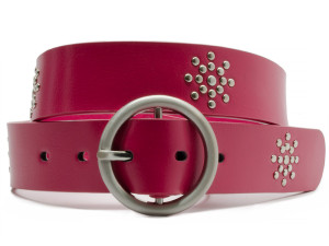 pretty in pink hypoallergenic belt